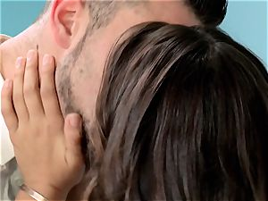 Reunited Sn five Sara Luvv gets a mouth-watering boinking from her ex