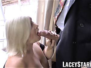 LACEYSTARR - wildest grandma analled before jizz flow