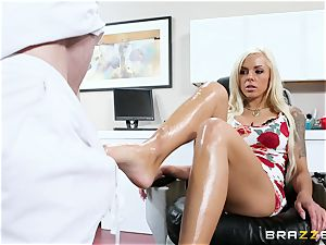 Nina Elle - fumble my gams and do rubdown my cooter