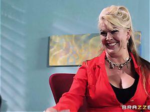 Krissy Lynn suffers her hardest interview