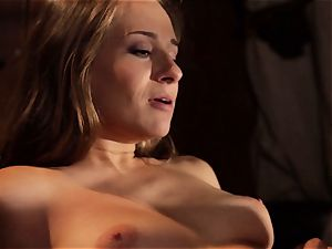 Cassidy Klein is shafted by a cowboys giant man rod