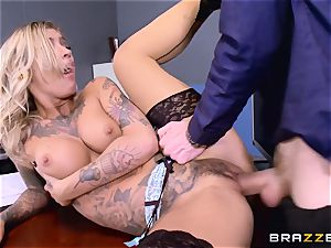 Kleio Valentien chisel plunged by Danny D