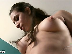 Kalei invites you closer to her hairy puss