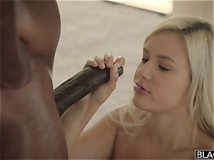 giant all-natural bosoms handsome nubile has fuck-fest with her dark-hued neighbor