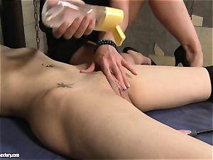 Kathia Nobili do rock hard fake penis tear up a lusty honey