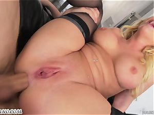 German star Kagney Linn Karter - hard-core three way