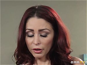 wife Lezley Zen gets revenge on sumptuous massagist Monique Alexander