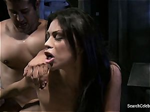 sweetie Cassandra Cruz well-prepped to gargle some gigantic man meat