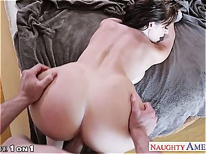 luxurious Sophie Dee super-naughty at home for a fat trunk