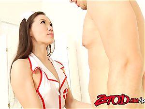 Nurse Kalina Ryu penetrated firm