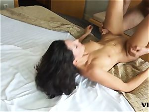 Vivid - super-sexy latina gets romped in seedy motel