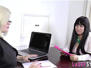grandmother fondles asians vagina