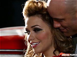 Racing sweetheart Mia Malkova
