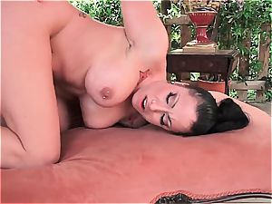 super-fucking-hot Latina crazy for a supreme rod inwards by the pool