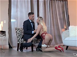 Bailey Brookes tamed by some humungous german man rod