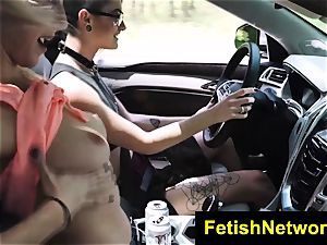 TeensInTheWoods Gina Valentina fuck-a-thon marionette