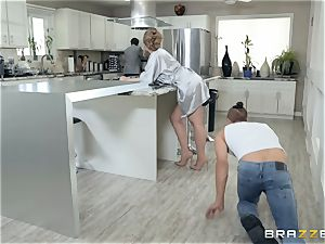 Lena Paul caught cuckold