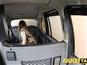 fake taxi tossing salad suntanned honey with lil' pinkish cooter