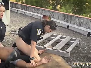 fat dark-hued milf Break-In try Suspect has to drill his way out of prially s sonnie