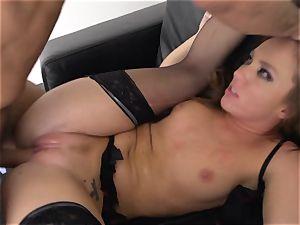 Maddy OReilly slammed total in her underwear